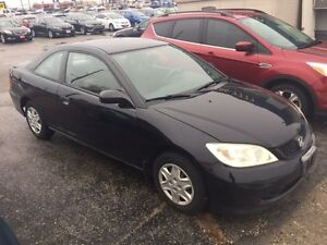 2005 Honda Civic SE Coupe One Owner