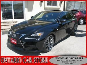 2014 Lexus IS 250 F SPORT NAVIGATION