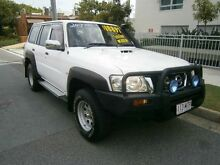 2007 Nissan Patrol GU 5 MY07 DX White 5 Speed Manual Wagon Redcliffe Redcliffe Area Preview