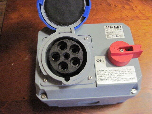 Leviton 560MI9W Mechanical Interlock Pin & Sleeve Manual Motor Starter