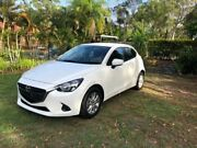 2014 Mazda 2 DJ2HAA Neo SKYACTIV-Drive White 6 Speed Sports Automatic Hatchback Capalaba Brisbane South East Preview