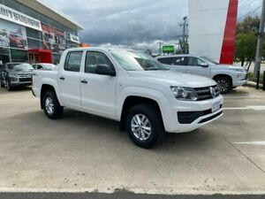 2017 Volkswagen Amarok 2H MY17 TDI420 4MOTION Perm Core Plus White 8 Speed Automatic Utility Hoppers Crossing Wyndham Area Preview