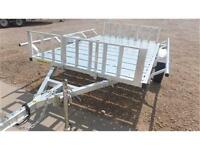 Jr's 6x9 Galvanized Marlon RAT Quad Trailer