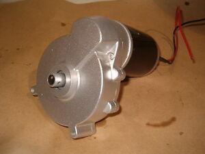GEAR MOTOR 12 VOLT 150-160 RPM 180 WATT WITH OUTPUT SHAFT Prince George British Columbia image 4