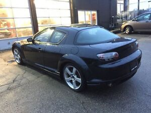 FS: mazda rx8 gt 2004 black on brown w/ exhaust