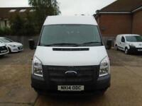 Ford Transit Medium Roof 17 Seater Tdci 135Ps DIESEL MANUAL WHITE (2014)