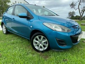2014 Mazda 2 DE10Y2 MY14 Neo Sport Blue 4 Speed Automatic Hatchback Tugun Gold Coast South Preview