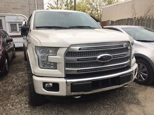 2015 Ford F150 Platinum