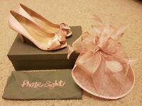 Phase Eight shoes and Fascinator immaculate x