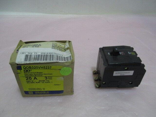 SQUARE D Schneider Electric QOB320VH5237, 0029, Bolt-On Circuit Breaker. 416787
