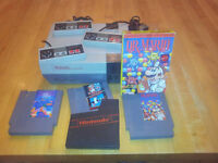 Nintendo Entertainment System (NES) with 3 Controller + 3 games