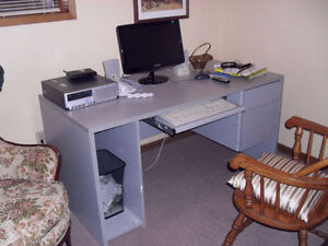 Computer Desk = Sorry Computer In Picture Is Not For Sale!!!!!!!