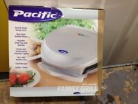 Pacific Electric grill with easy clean coating