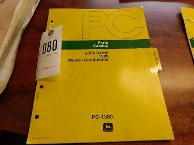 John Deere 1209 Mower- Conditional Parts Catalog080