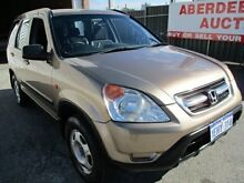 2004 Honda CR-V MY04 4x4 Gold 4 Speed Automatic Wagon West Perth Perth City Preview