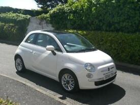 Fiat 500 1.2 ( s/s ) LOUNGE 2015 (64) ONLY 23,000 MILES GLASS ROOF AIR CONDITION