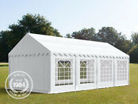 NEW Heavy Duty 03x08m PVC Wedding Party Event Marquee ECO - FOR ALL YEAR USE