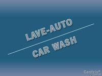 Lave auto a vendre, Car wash for sale, West-Island