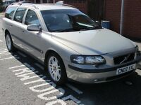 Volvo V70 Estate - In very good condition disability forces sale - Bargain £1800