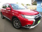 2017 Mitsubishi Outlander ZK MY17 LS 4WD Red 6 Speed Constant Variable Wagon Melrose Park Mitcham Area Preview