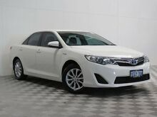 2012 Toyota Camry AVV50R Hybrid H White Continuous Variable Sedan Atwell Cockburn Area Preview