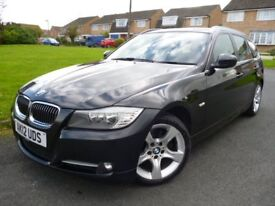 12/12 BMW 318d EXCLUSIVE EDITION TOURING 2 OWNERS FSH LEATHER GREAT SPEC