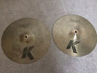 "14"" Zildjian K Custom Dark Hi-hats"