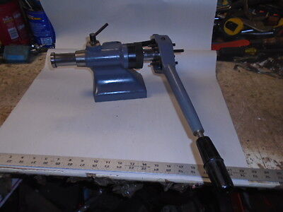 Machinist Tools Lathe Mill Machinist Schaublin Drilling Lever Lathe Tail Stock