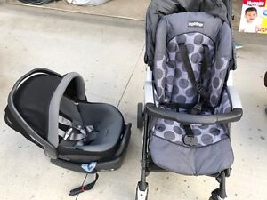 Peg.Perego car seat and stroller set