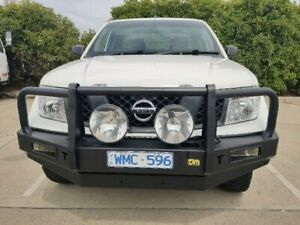 2008 Nissan Navara D40 ST-X (4x4) White 6 Speed Manual Dual Cab Pick-up Mitchell Gungahlin Area Preview