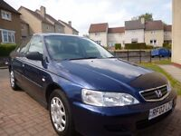 2002 Honda Accord 1.8 V-tec S ++37000mls++Full Years MOT+FSH