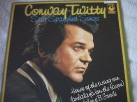 Vinyl LP Conway Twitty Star Spangled Songs MFP SPR 90064 Stereo