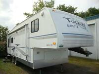 Fifth wheel Fleetwood Terry Dakota, modèle 8275S, 2004, 28 pieds