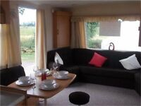 cheap static caravan for sale 3 bedrooms - clacton on sea - essex - 12 month season.
