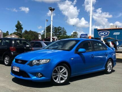 2009 Ford Falcon FG XR6 Blue 5 Speed Sports Automatic Sedan Greenslopes Brisbane South West Preview