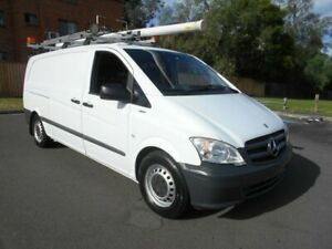 2013 Mercedes-Benz Vito MY11 113CDI LWB White 5 Speed Automatic Van Bankstown Bankstown Area Preview