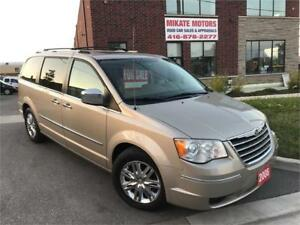 GORGEOUS LOADED 2008 CHRYSLER TOWM & COUNTRY LIMITED