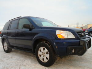 2004 HONDA PILOT-GRANITE EDITION-4X4-ONE OWNER-8 PASSENGES