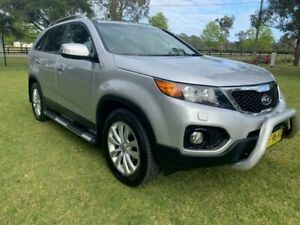 2012 Kia Sorento XM MY12 Platinum (4x4) Silver 6 Speed Automatic Wagon Tuggerah Wyong Area Preview