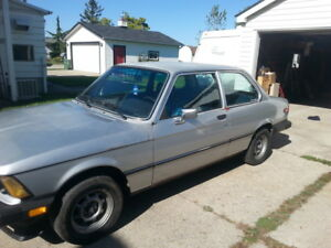 E21 1977 320i . . . .must go ,....TRADE FOR TRUCK. . . .