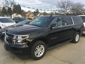 2016 Chevrolet Suburban LT black on black 4x4 leather sunroof