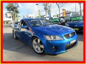 2009 Holden Ute VE MY09.5 SS V Blue 6 Speed Manual Utility North Parramatta Parramatta Area Preview