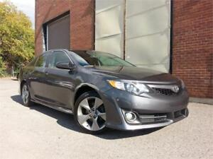 2014 Toyota Camry SE/CAMERA/GPS/CUIR/TOIT/MAGS/CRUISE/FULL ELEC