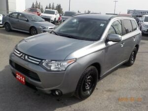 2014 Mitsubishi Outlander GT AWD ***FREE WINTER TIRES & RIMS INC