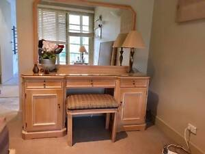 Dressing table, French Provincial style, with Stool Northbridge Willoughby Area Preview