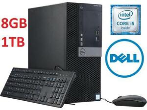 NEW DELL OPTIPLEX 3040 i5DESKTOP PC - 102018215 - i5-6400 8GB  1TB WIN 7 PRO