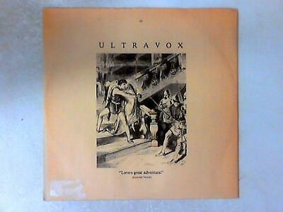 Love's Great Adventure (Extended Version (Ultravox - 1984-10-08) UVX3 (ID:15809) comprar usado  Enviando para Brazil