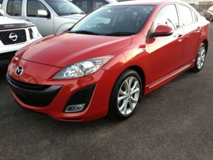 2010 Mazda 3 BL10L1 SP25 Activematic Red 5 Speed Sports Automatic Sedan Cleveland Redland Area Preview
