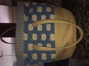 Nearly-New Cat-Themed ADORABLE Large Bag!