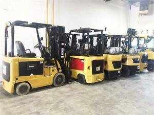 Différents modèles de Chariot élévateur Caterpillar, Forklift